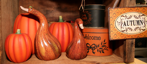 Matte Ceramic Pumpkins, Small