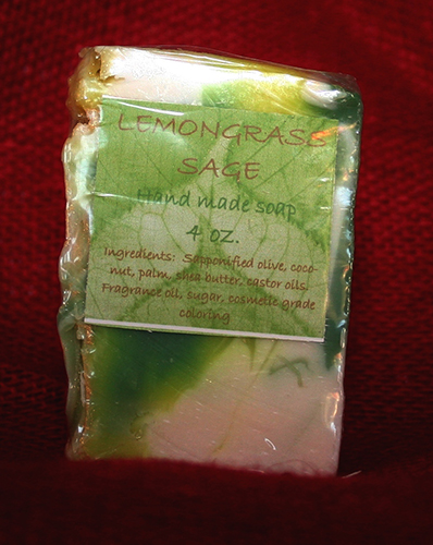 Lemongrass Sage Soap