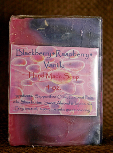 Raspberry Vanilla Soap